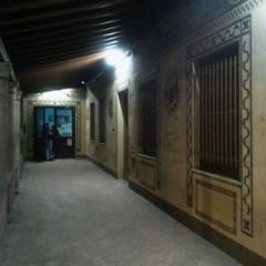 Il portico dell'Oratorio maschile