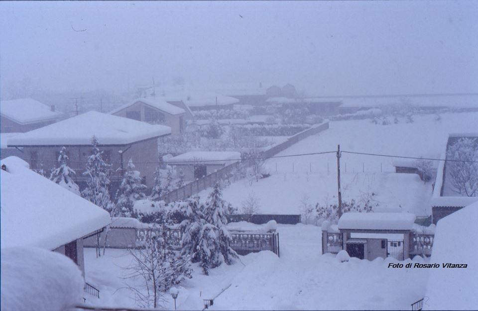 la neve a Mesero